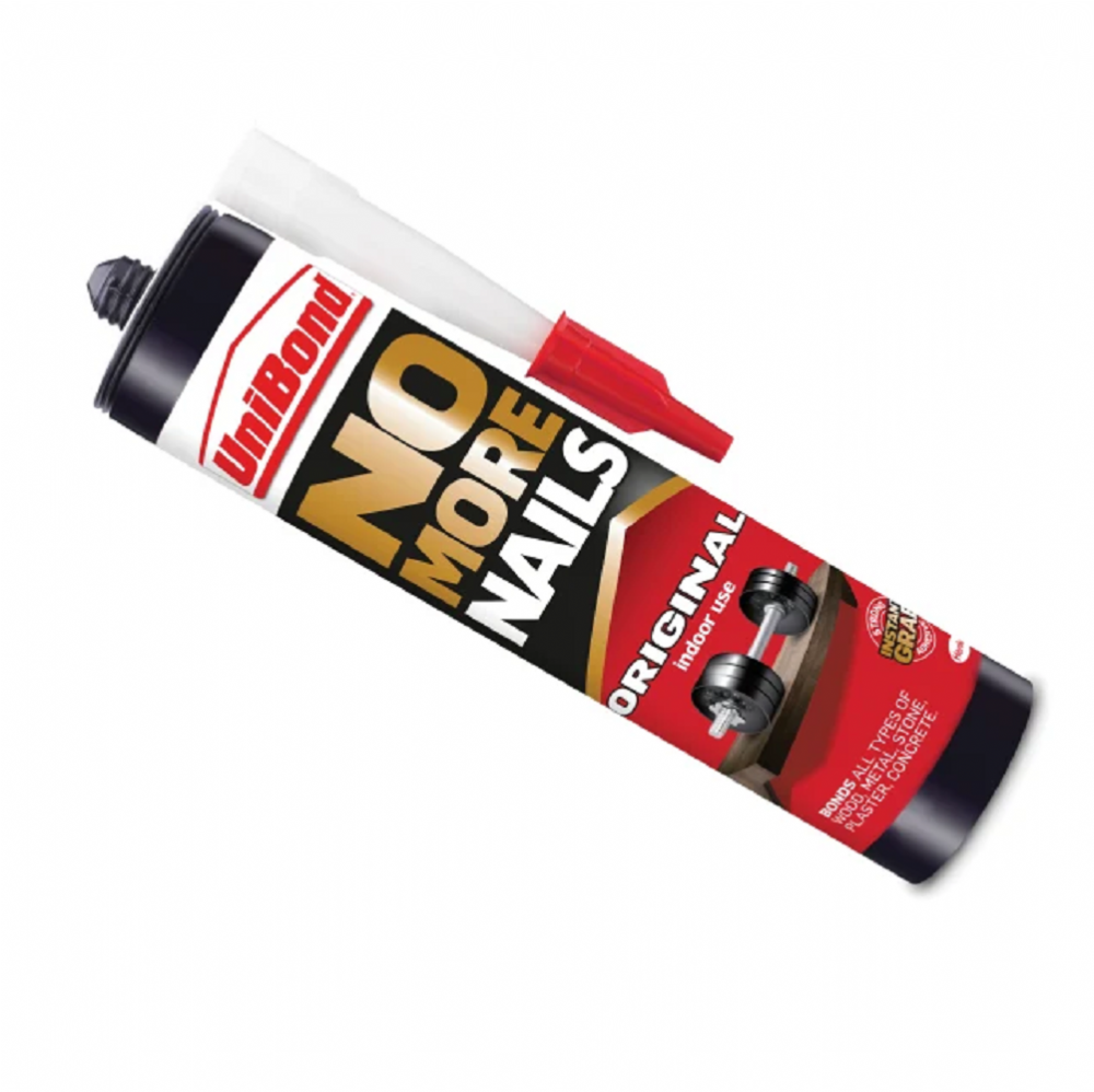 Unibond No More Nails Original Grab Adhesive White 300ml